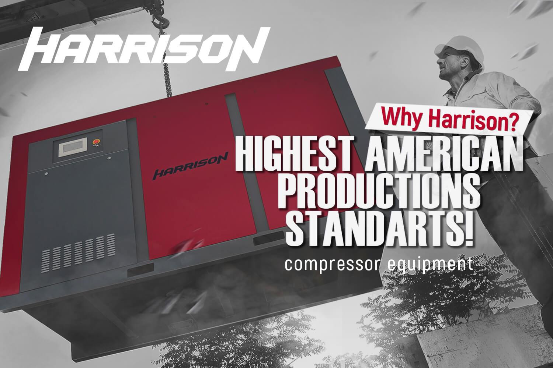 Видеообзор компрессорного оборудования Harrison на английском