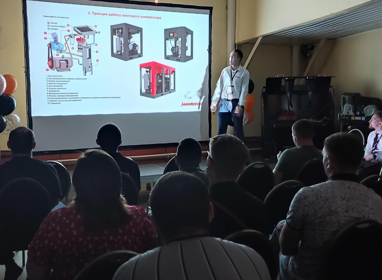 Презентация компрессоров на Урале