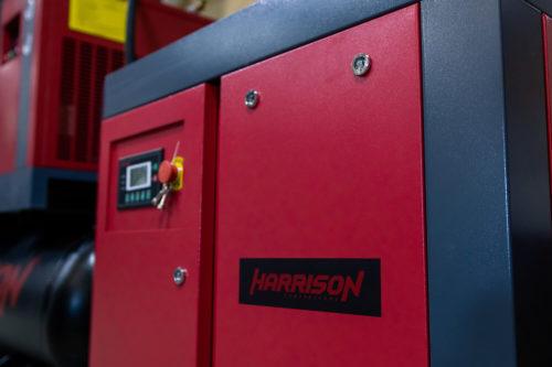 Экспозиция линейки винтовых компрессоров Harrison на выставке в г. Казань